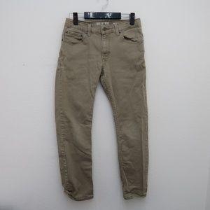 Womens Levis Strauss Skinny Khaki Jeans Size 16